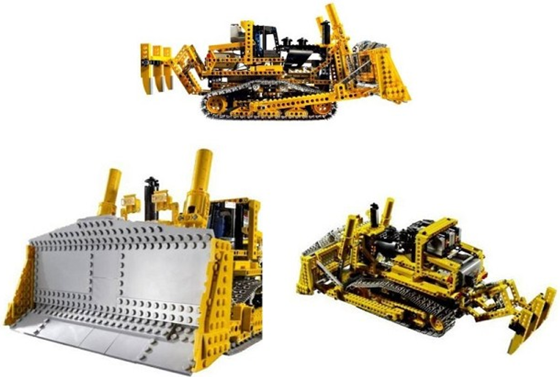 Motorized Bulldozer components