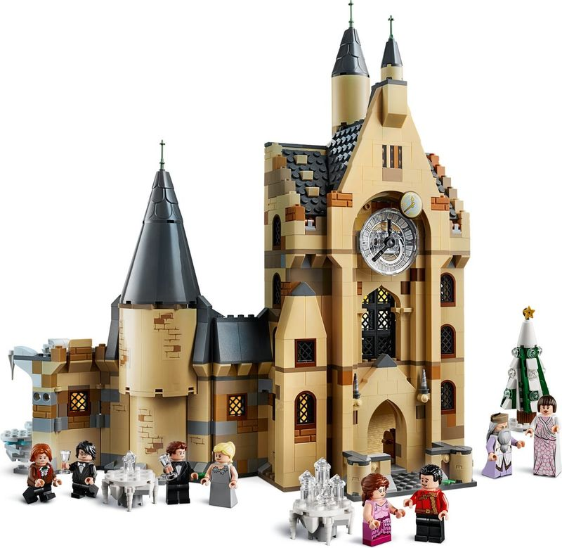 LEGO® Harry Potter Hogwarts™ Clock Tower components