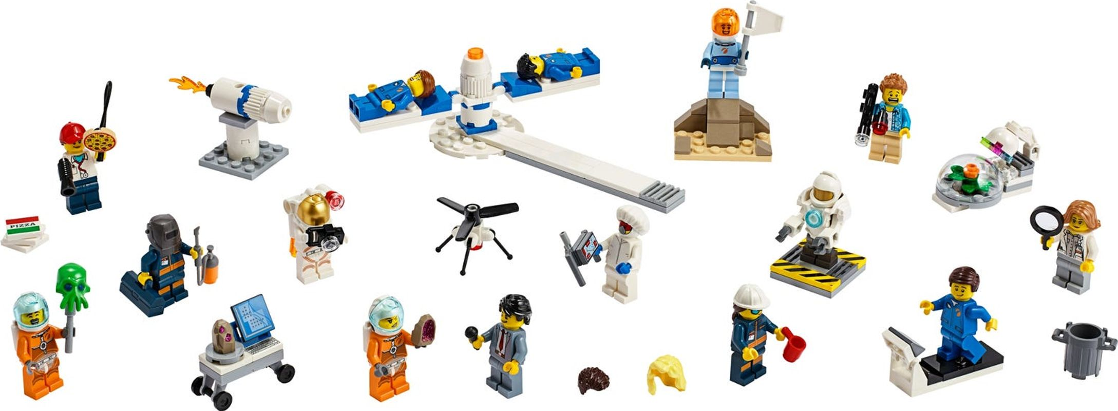 People Pack - Space Research and Development components