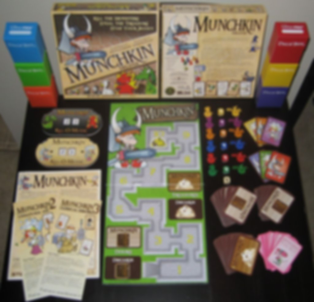Munchkin components