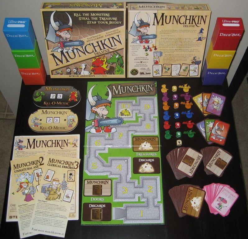Munchkin components