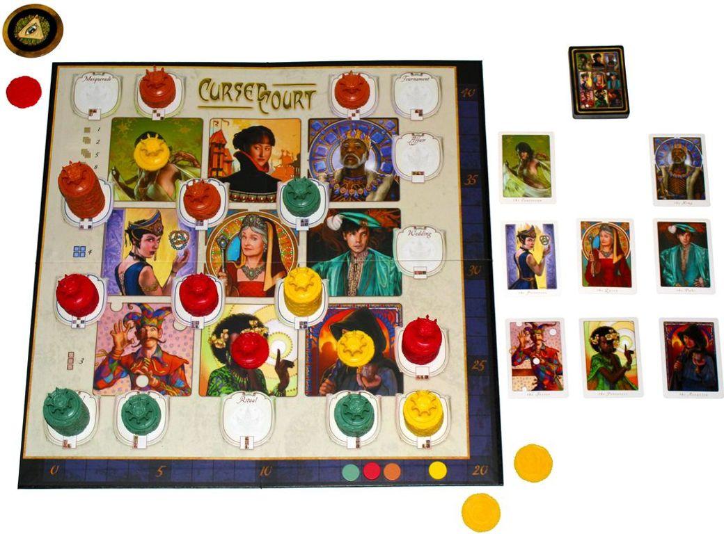 Cursed Court gameplay