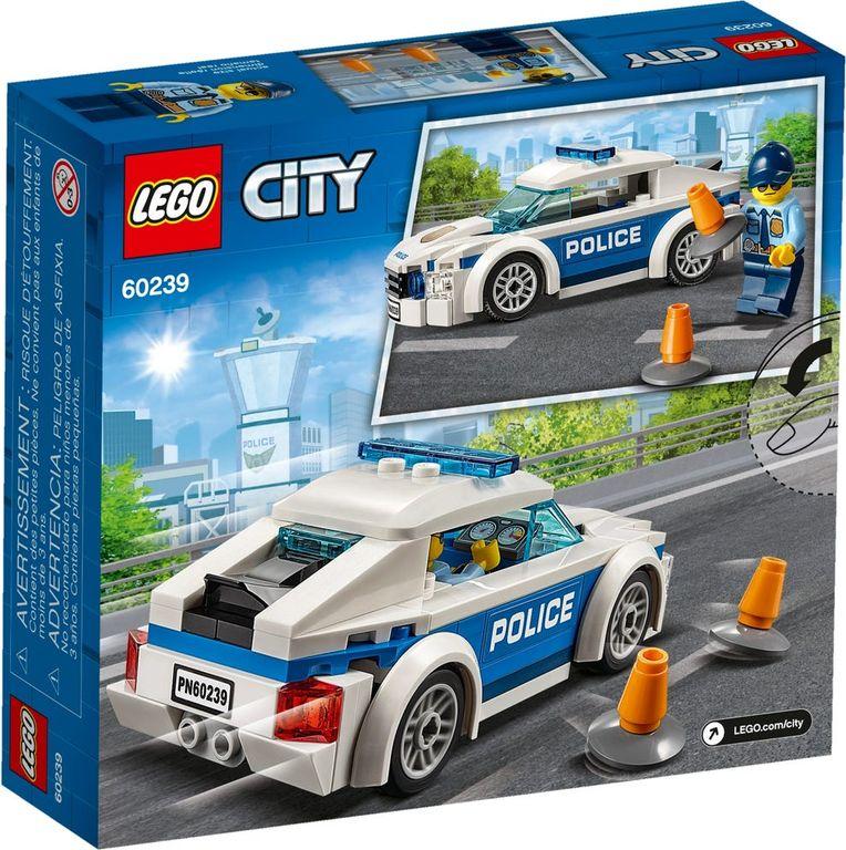 LEGO® City Patrol Car back of the box