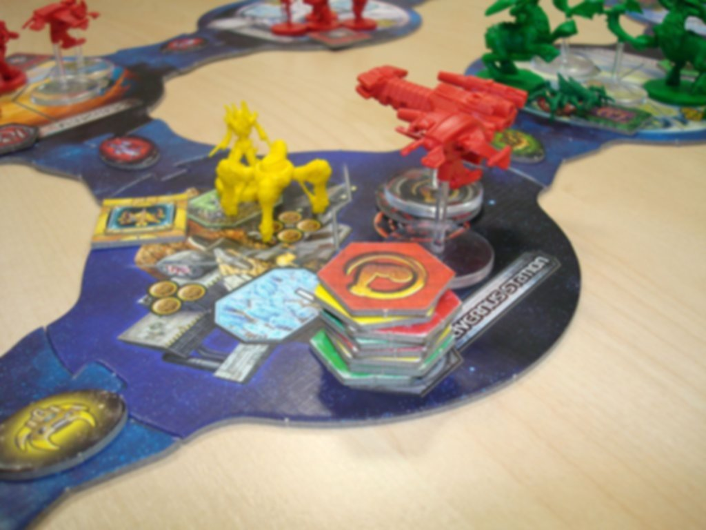 StarCraft: The Board Game - Brood War Expansion components