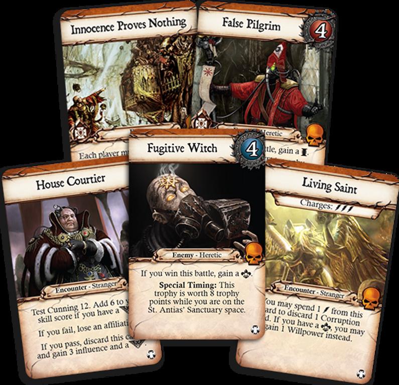 Relic: Halls of Terra cards