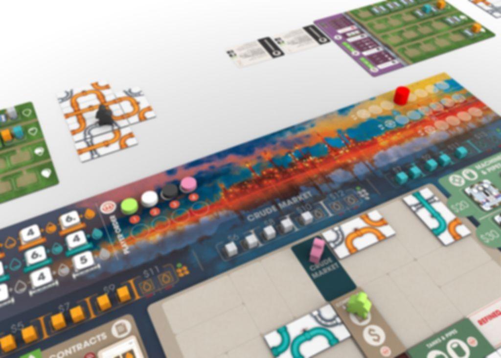 Pipeline gameplay