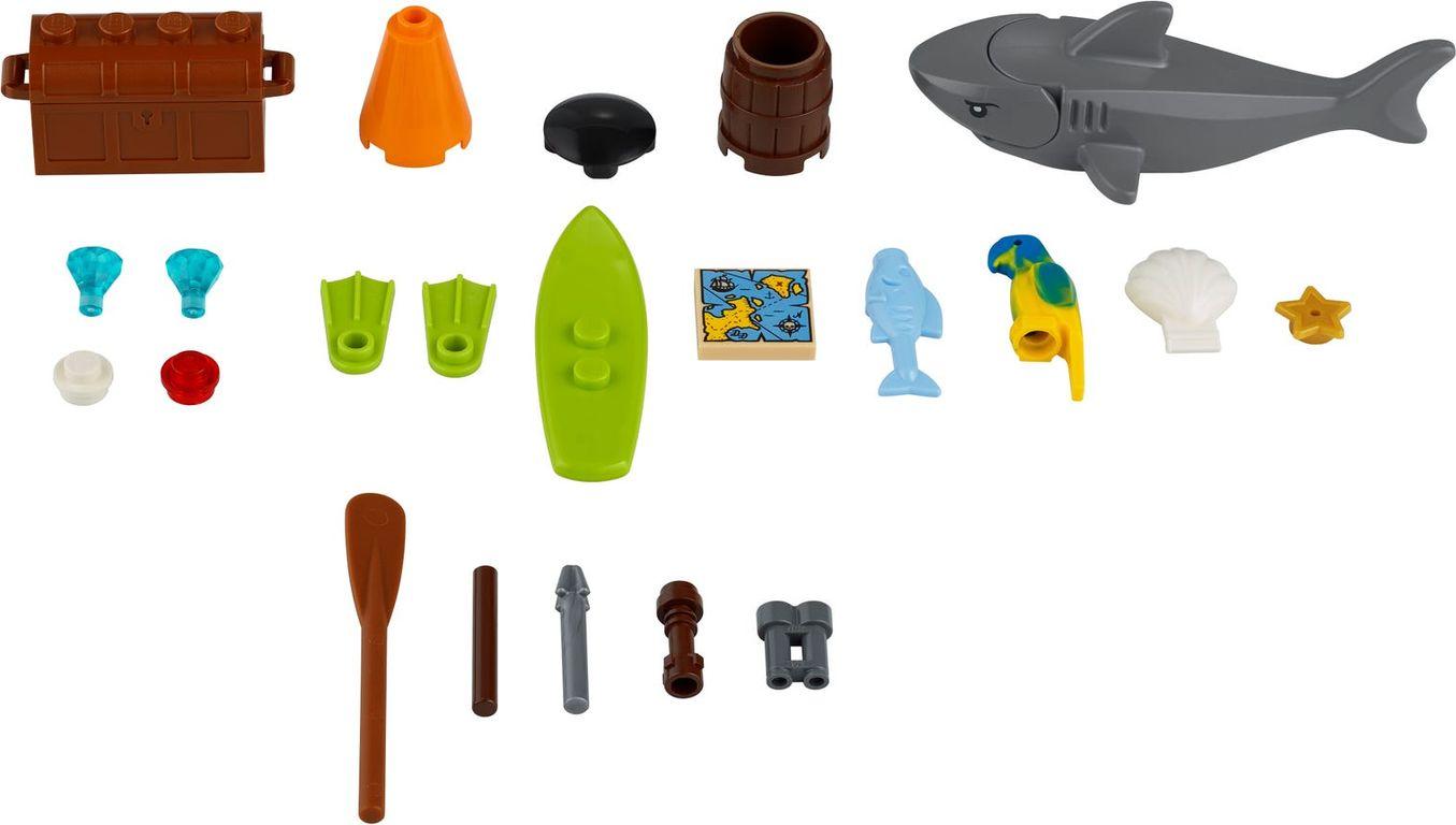 LEGO® Xtra Sea Accessories components