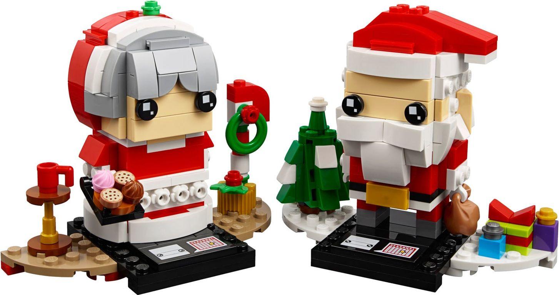 Mr. & Mrs. Claus components