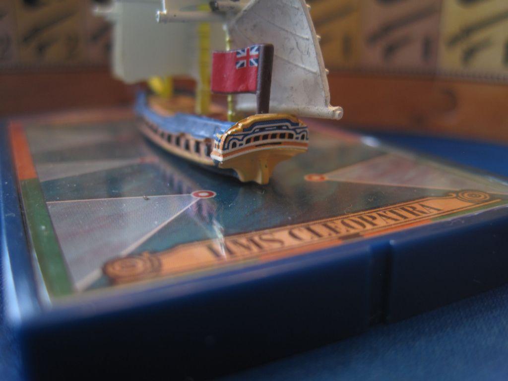 Sails of Glory Ship Pack: HMS Cleopatra 1779 / HMS Iphigenia 1780 miniature