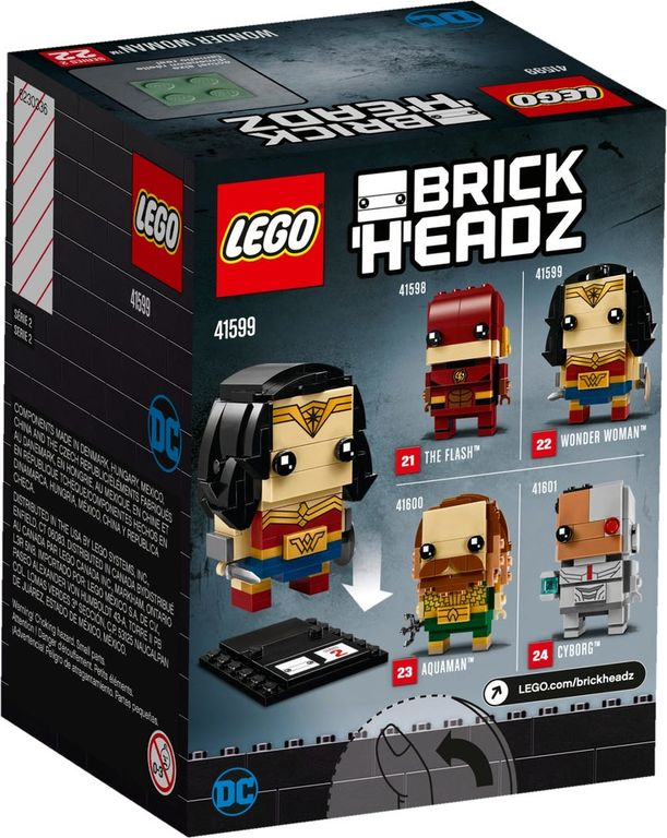 LEGO® BrickHeadz™ Wonder Woman™ box