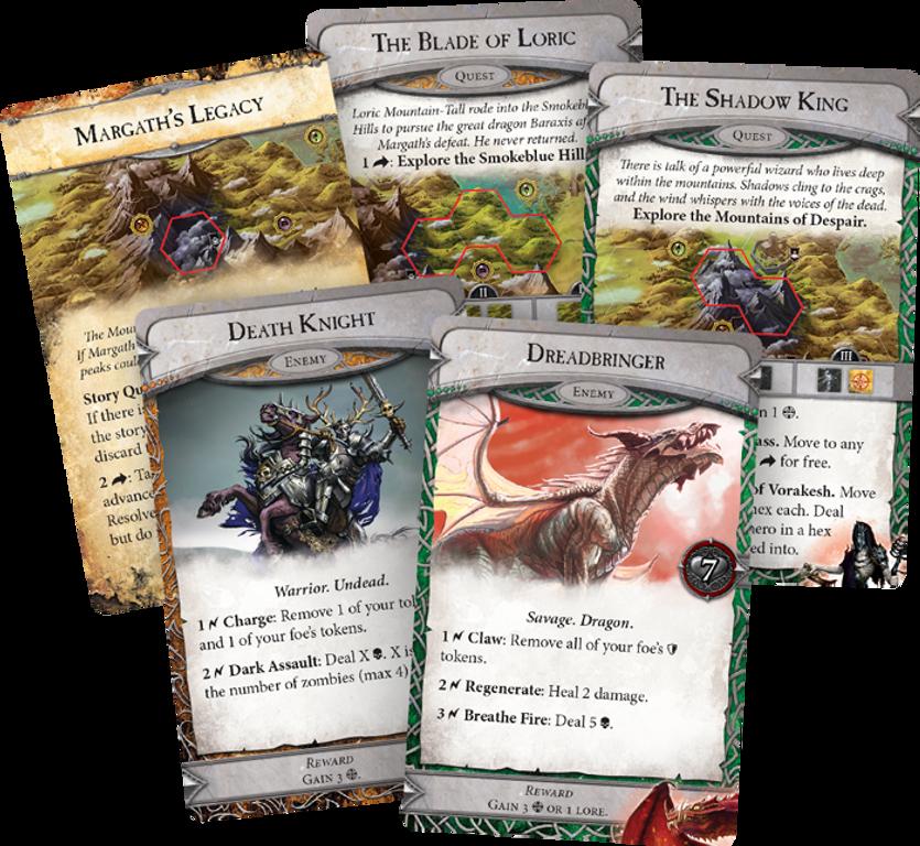 Runebound (Third Edition) cards