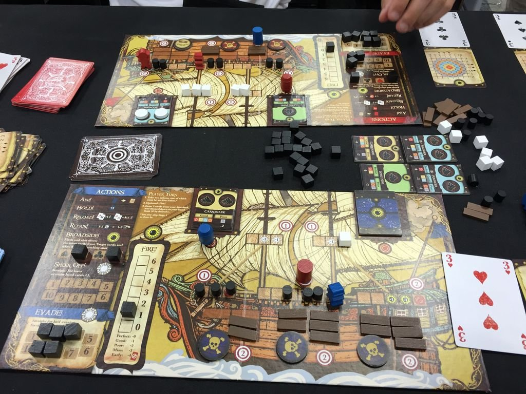 Merchants & Marauders: Broadsides gameplay