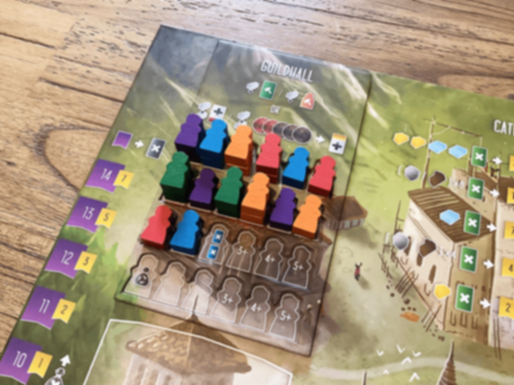 Architects of the West Kingdom: Age of Artisans components