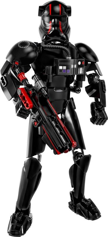 LEGO® Star Wars Elite TIE Fighter Pilot™ components