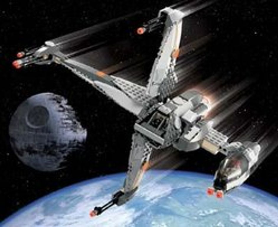 LEGO® Star Wars B-Wing Fighter gameplay