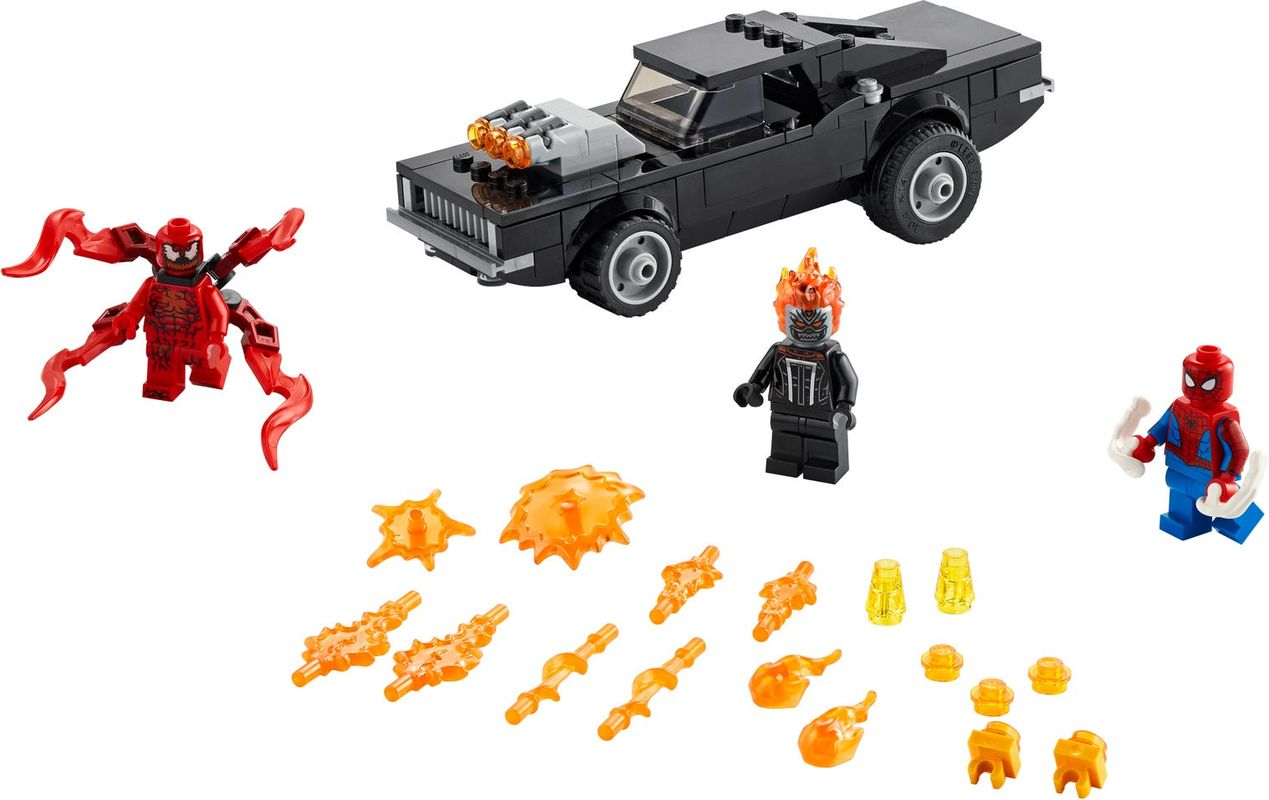 Spider-Man and Ghost Rider vs. Carnage components
