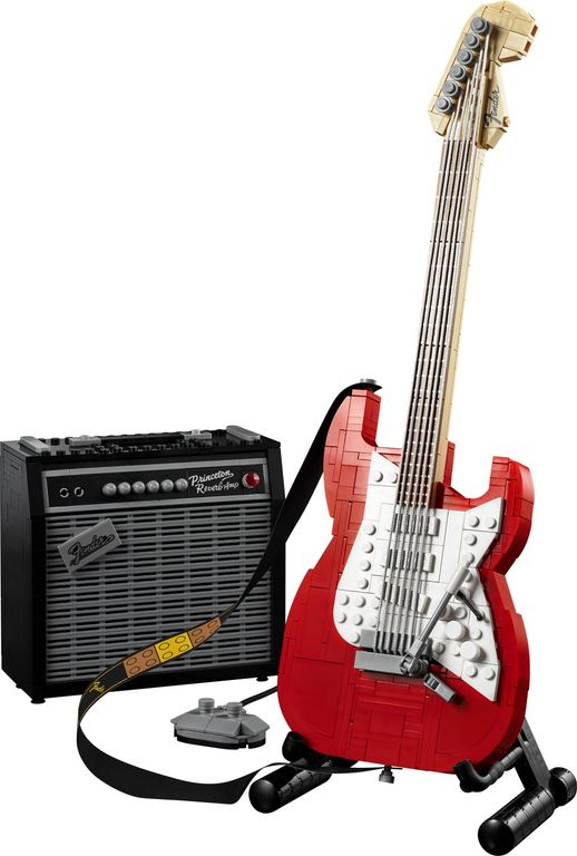 LEGO® Ideas Fender® Stratocaster™ components
