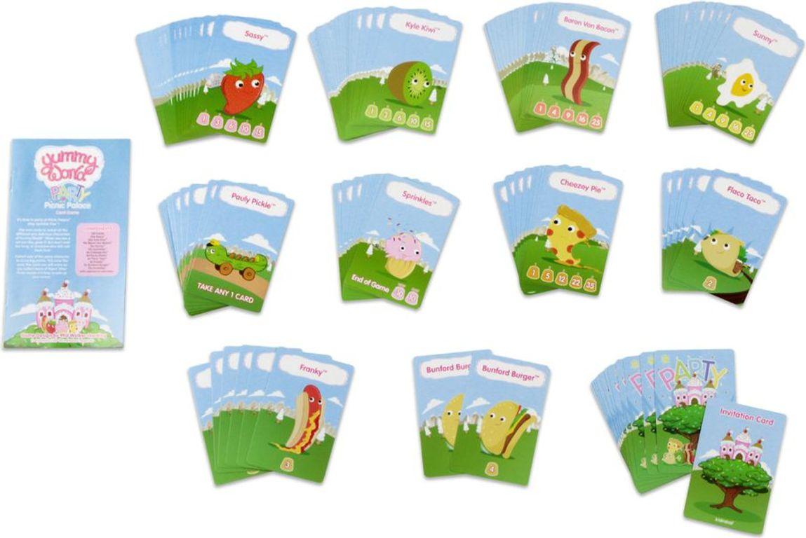Yummy World: Party at Picnic Palace cards