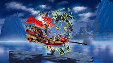 LEGO® Ninjago Final Flight of Destiny's Bounty gameplay