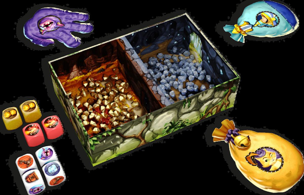 Troll & Dragon components