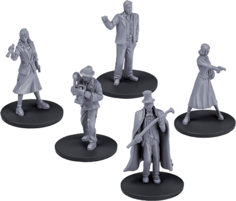 Mansions of Madness: Second Edition - Suppressed Memories miniaturen