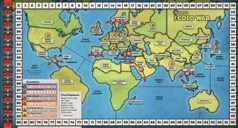 Quartermaster General: The Cold War game board
