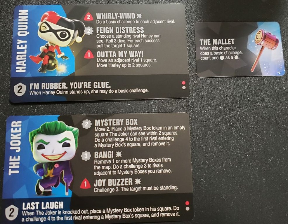 Funkoverse Strategy Game: DC 4-Pack characters