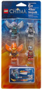 Fire and Ice Minifigure Accessory Set