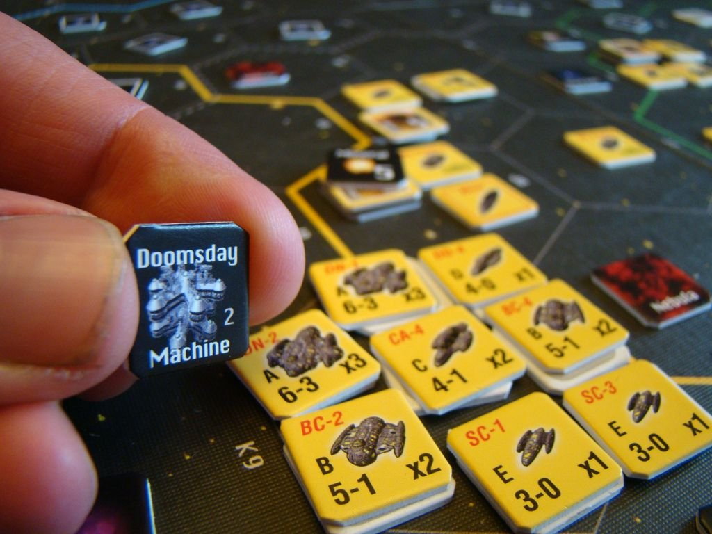 Space Empires: 4X components