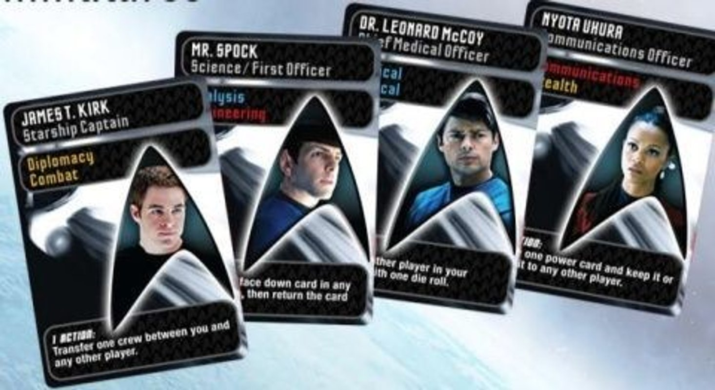 Star Trek: Expeditions cards