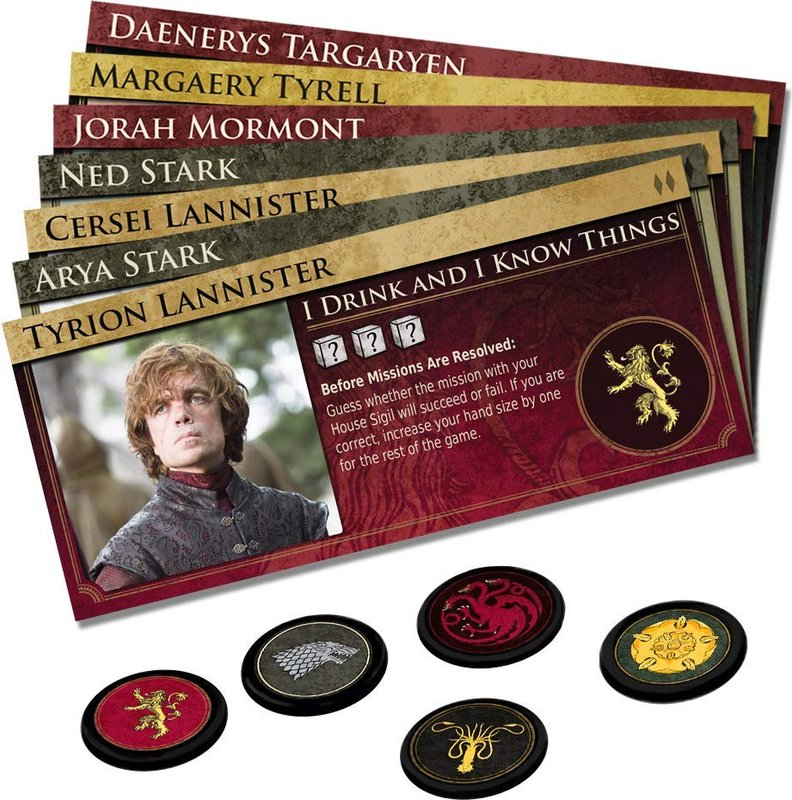 Game of Thrones: Oathbreaker components