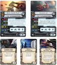 Star Wars: X-Wing Miniatures Game - Imperial Aces Expansion Pack cards