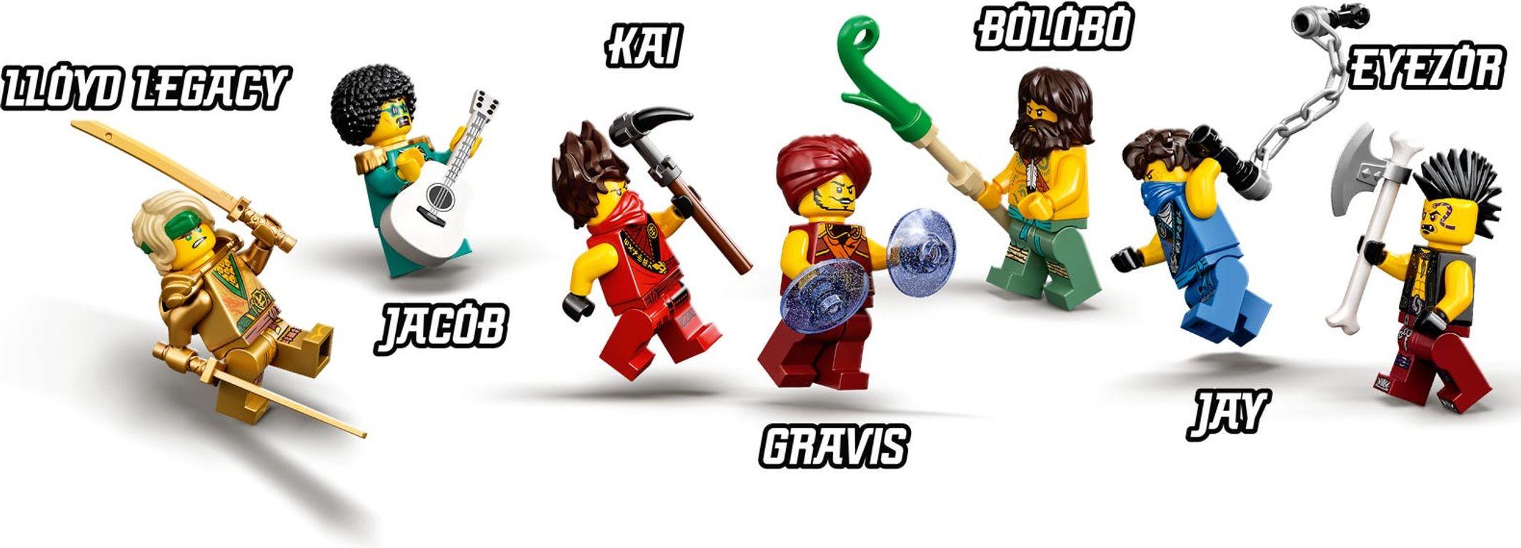 LEGO® Ninjago Tournament of Elements minifigures