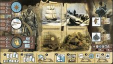 Expedition: Northwest Passage game board