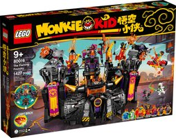 LEGO® Monkie Kid The Flaming Foundry