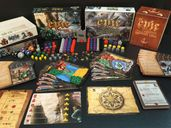 Tiny Epic Kingdoms: Heroes' Call components