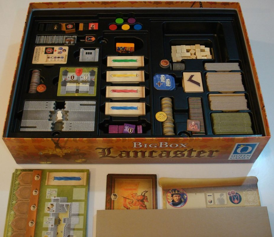 Lancaster: Big Box box