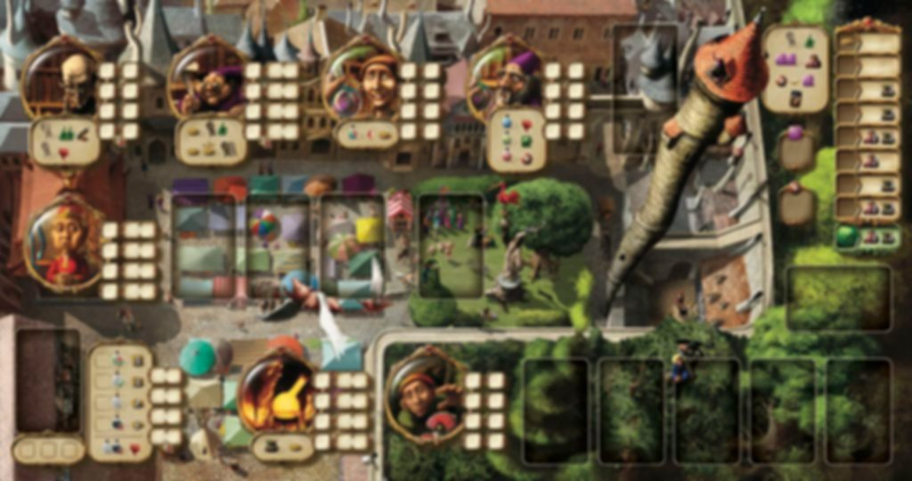 Alchemists game board