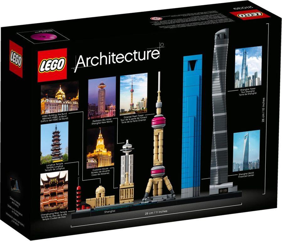LEGO® Architecture Shanghai back of the box