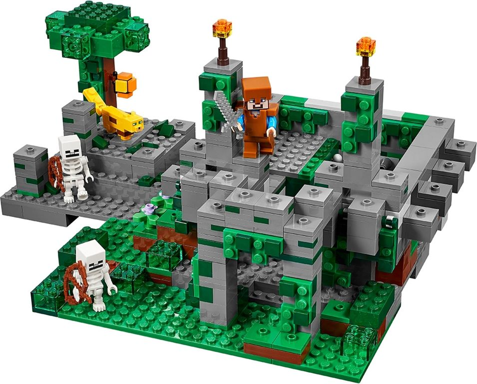 LEGO® Minecraft The Jungle Temple gameplay