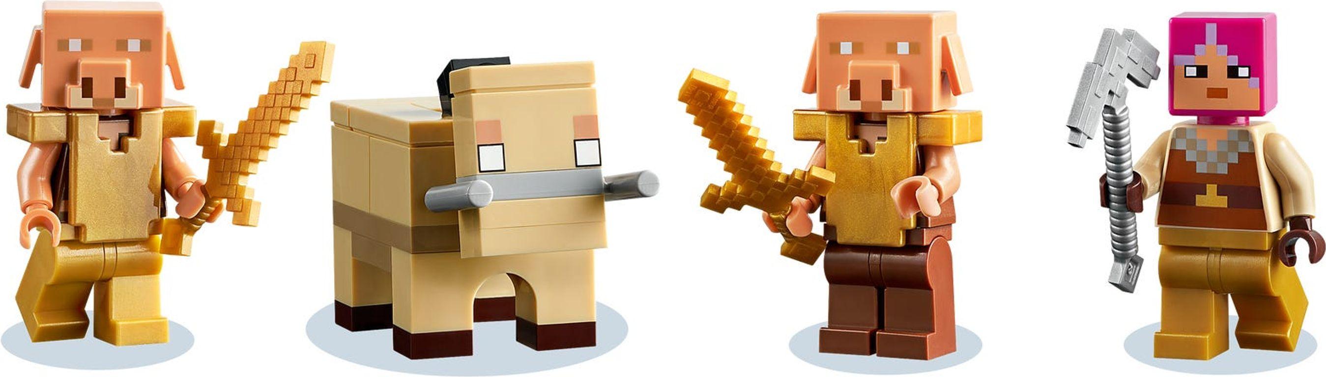 LEGO® Minecraft The Warped Forest minifigures