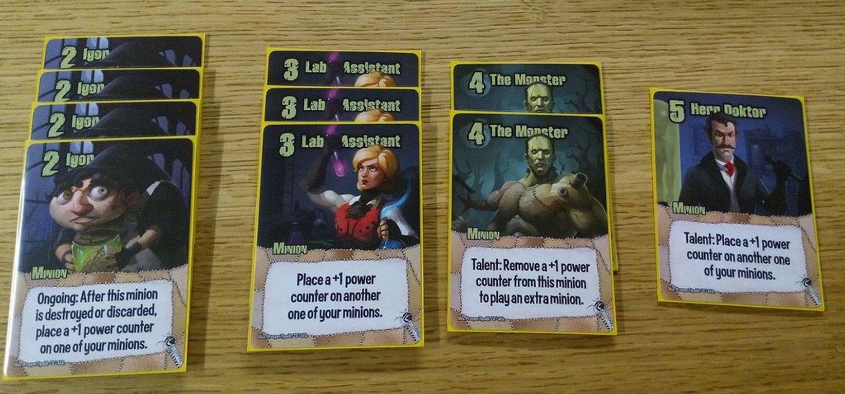 Smash Up: Monster Smash cards