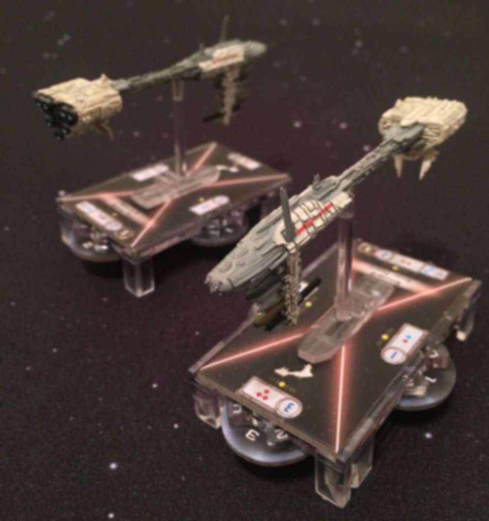 Star Wars: Armada - Nebulon-B Frigate miniatures