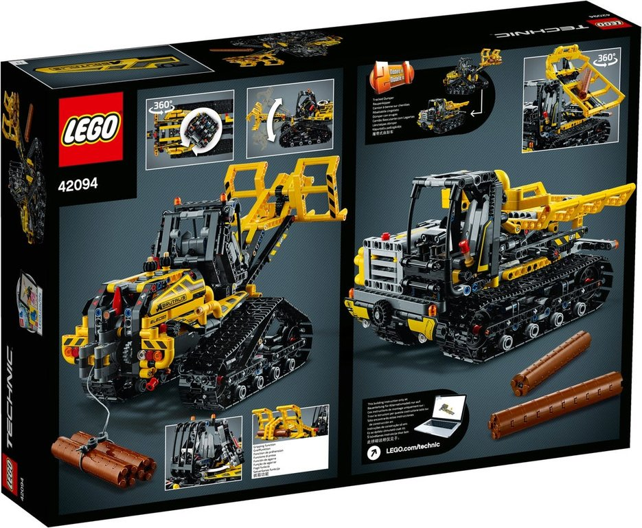 LEGO® Technic Tracked Loader back of the box