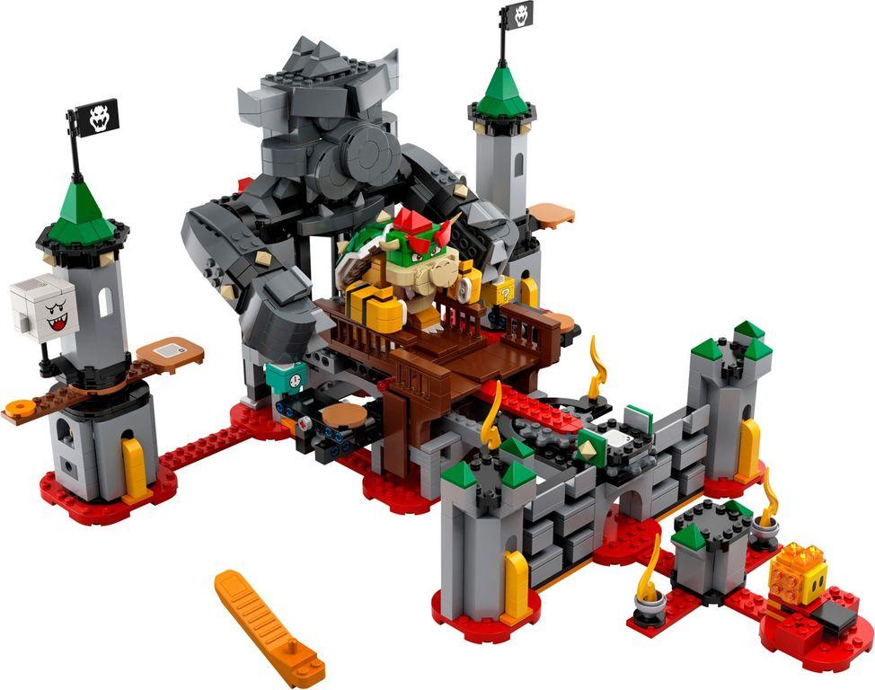 Bowser's Castle Boss Battle Expansion Set components