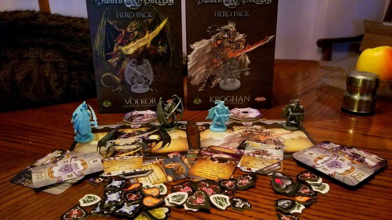 Sword & Sorcery: Hero Pack - Volkor Dragonheart/Dragonflame components