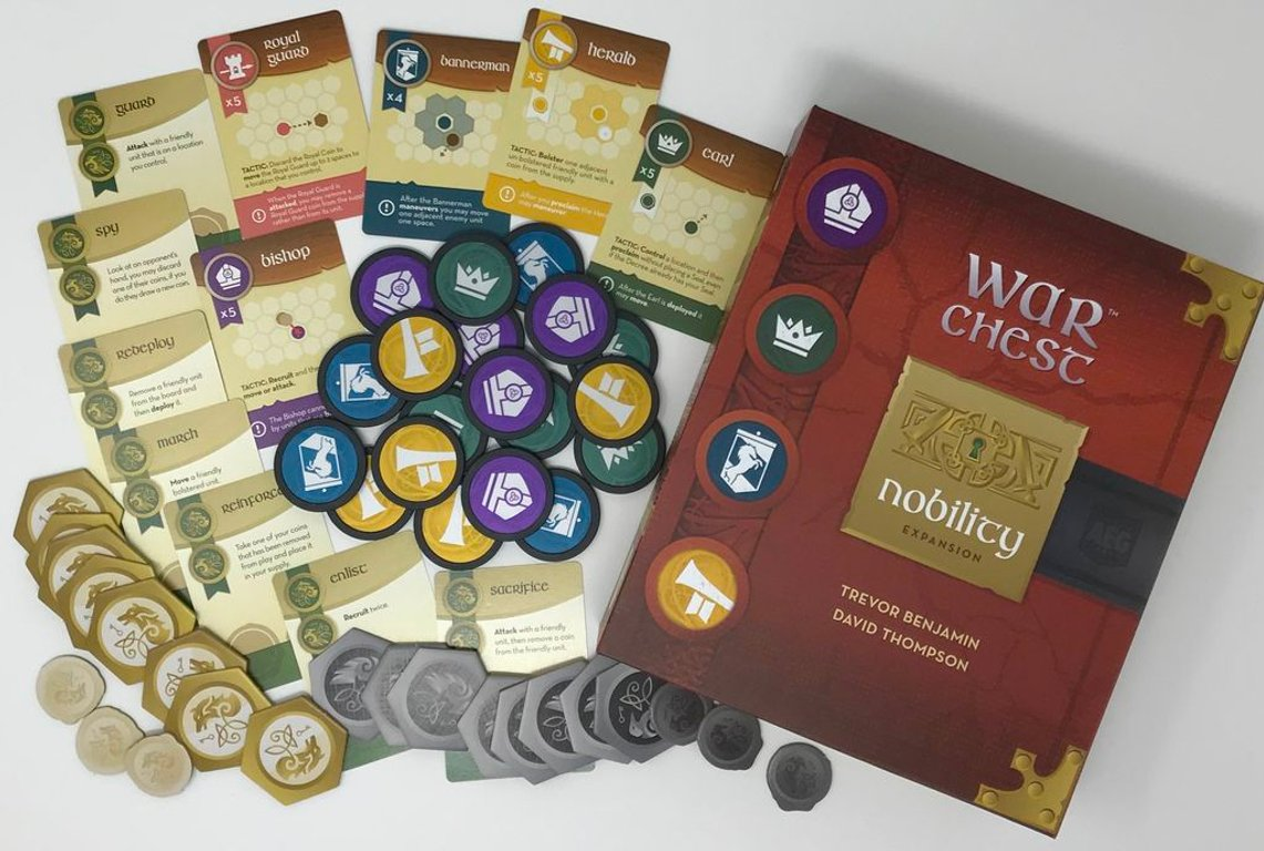 War Chest: Nobility components