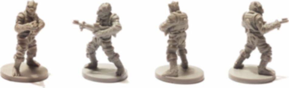 Star Wars: Imperial Assault - Bossk Villain Pack miniature