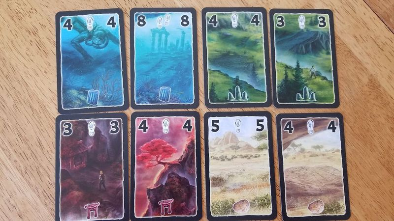 Lost Cities: Rivals cards