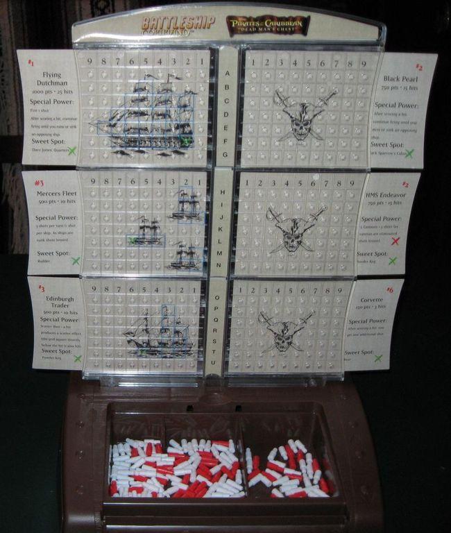 Battleship Command: Pirates of the Caribbean gameplay